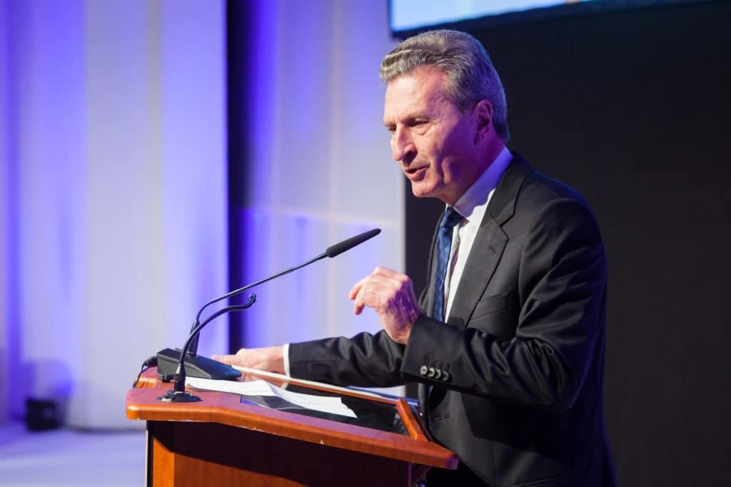 EU-Kommissar Günther Oettinger | © Andreas Bender