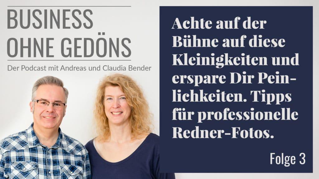 Business ohne Gedöns - Podcast-Cover Folge 003