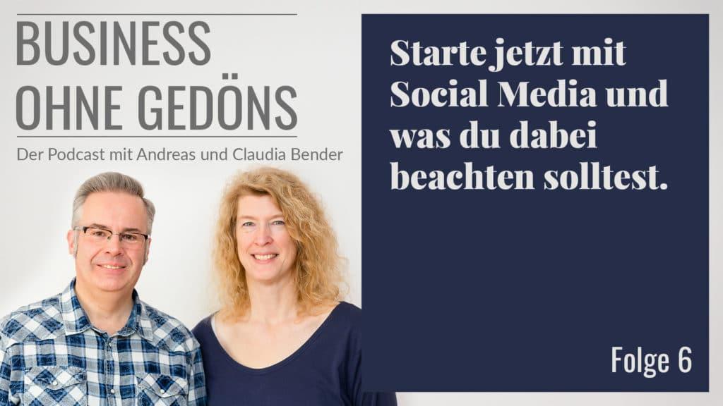 Business ohne Gedöns - Podcast-Cover Folge 006