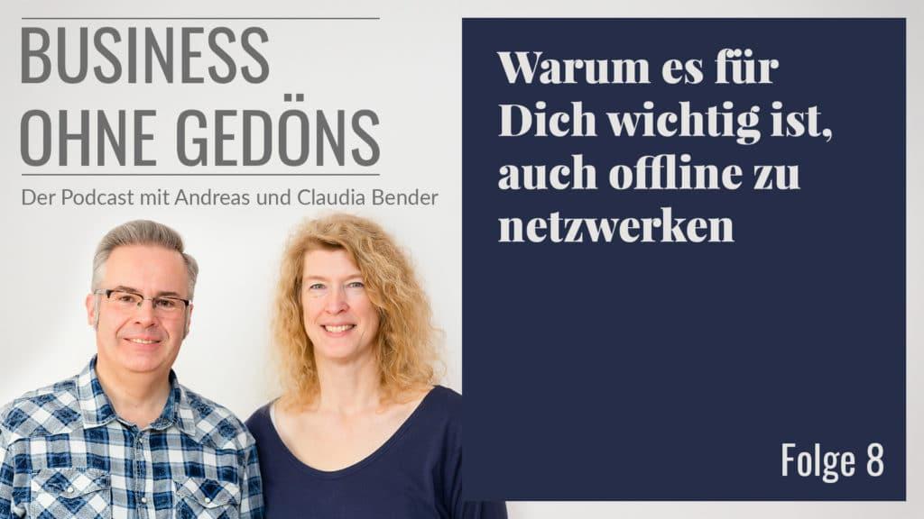 Business ohne Gedöns - Podcast-Cover Folge 008