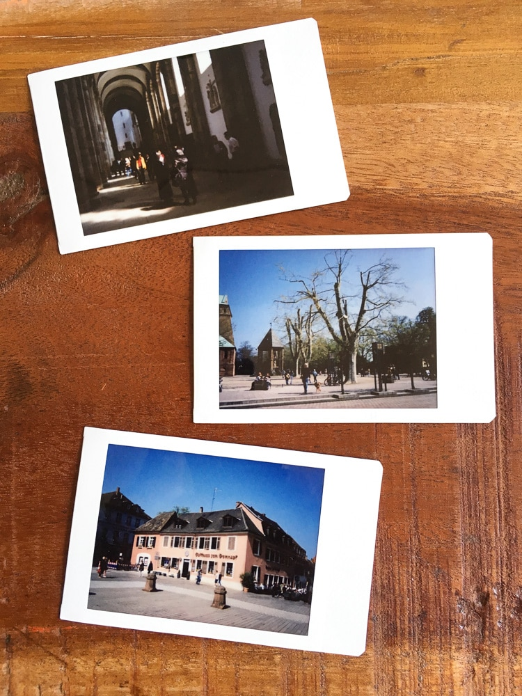 Mit der Instax in Speyer | © Andreas Bender